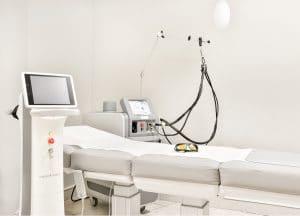 Behandlungsraum Laserbehandlungen